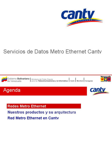 metro o lan cantv 6 y 8 mg configuracion e instalacion