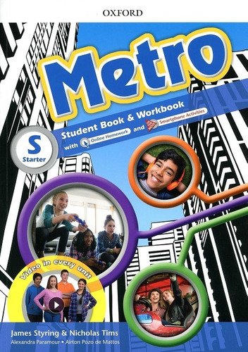 metro starter - student´s book and workbook pack - oxford