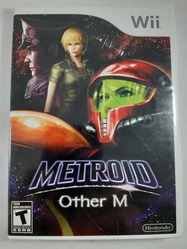 metroid other m nintendo wii fisico original