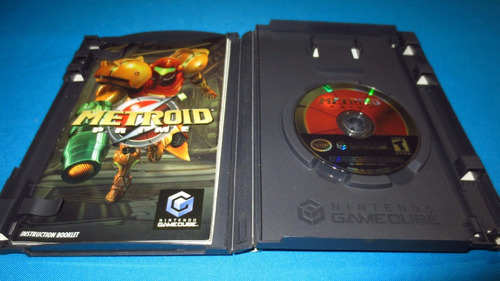 metroid prime gamecube not for resale *cd excelente estado*
