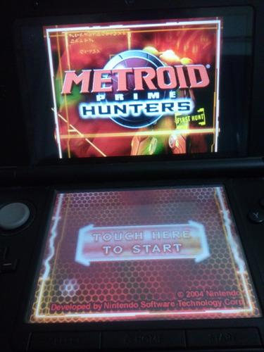 metroid prime hunters demo nintendo ds