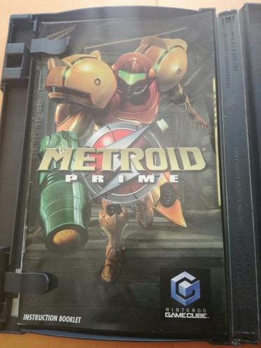 metroid prime nintendo game cube