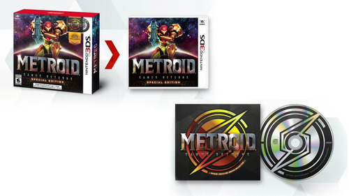 metroid samus returns special edition nuevo