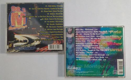 metronight 1 e 2 - metropolitada 98.5 fm / coletâneas cd