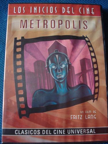metrópolis - fritz lang dvd original impecable