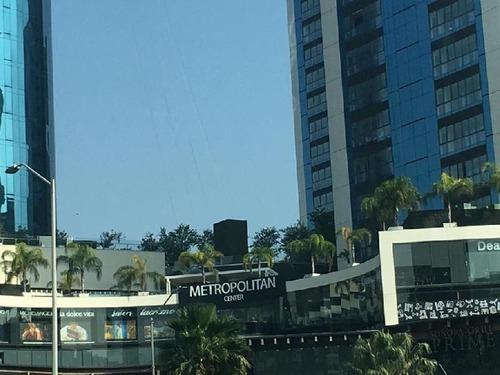 metropolitan center, deprtamento amueblado en renta