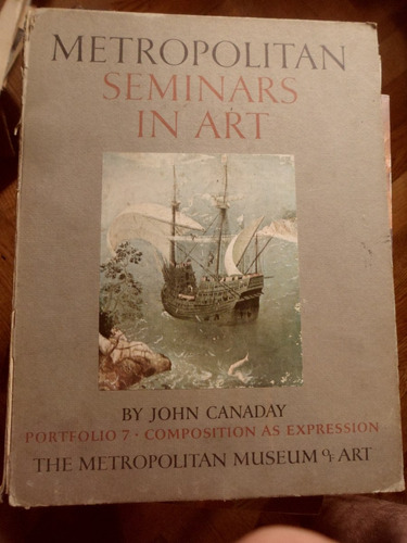 metropolitan seminars in art by john canaday portfolio 7
