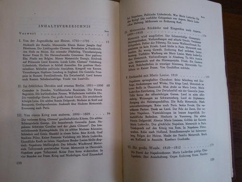 metternich und die frauen - egon cäsar conte corti (alemán)
