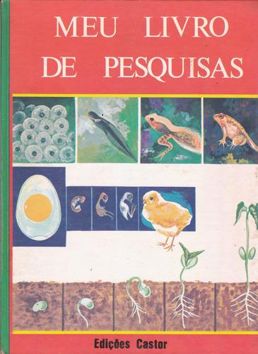 meu livro de pesquisas em 5 volumes / seminovos