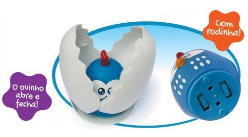 meu ovinho - galinha pintadinha mini