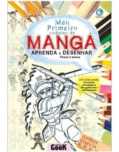 meu primeiro caderno de mangá - aprenda a desenhar - volume2