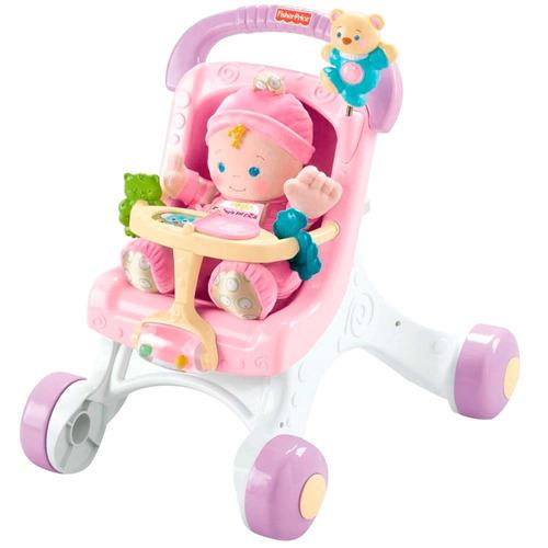 meu primeiro carrinho de bebê fisher price