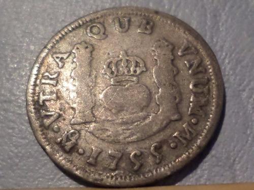 mexico 1 real 1755  mo-m mb