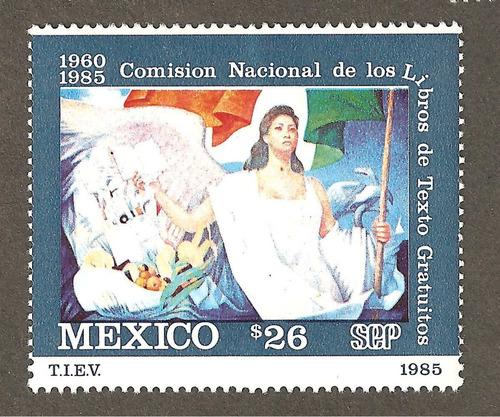 mexico 1985 libros de texto gratuitos