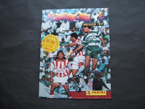 méxico 1997 superfutbol album estampas futbol