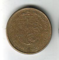 mexico (2) monedas, $1 y $100 - años: 1985, 2000