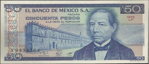 mexico 50 pesos 27 ene 1981 serie lp p73