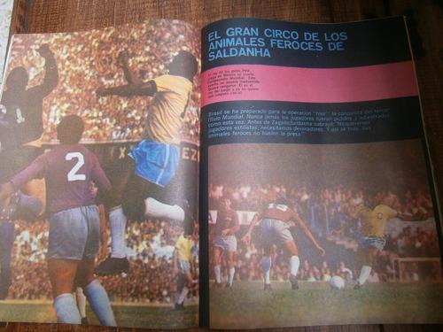 mexico 70 mundial futbol edicion especial revista dos 1970
