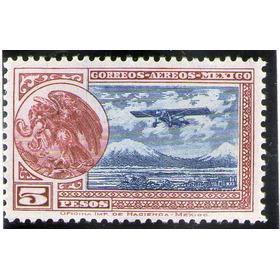 México, Avión Escudo 5p 1929