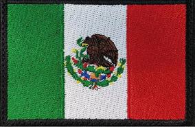 6a9b035c167a Mexico Bandera Parche Bordado Militar Gotcha Tactico Velcro