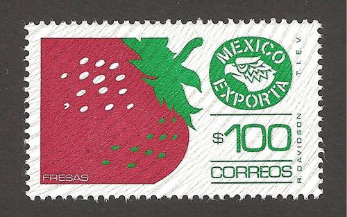 mexico exporta 100 pesos fresas  6xta serie nueva perf 14