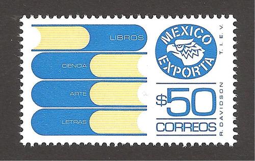 mexico exporta 50 pesos libros 6xta serie nueva perf 14