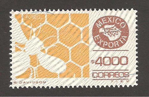 mexico exporta miel  4000 pesos 9na serie nueva vbf