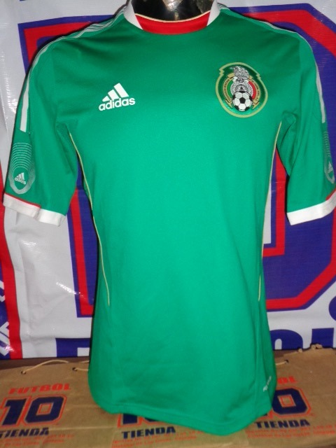 Mexico Jersey Seleccion Jabulani Local -   1 428b9d606b96f