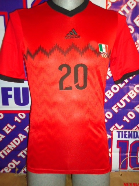 Mexico Preolímpicos Camisa De Juego Jersey Futbol Soccer -   900.00 ... 2b66cac48f4ce