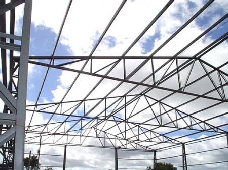 mezanino,construçao de galpões,estruturas metalicas em geral