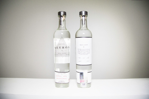 mezcal alerón - agave cenizo - 750 ml  |  caja de 6 botellas