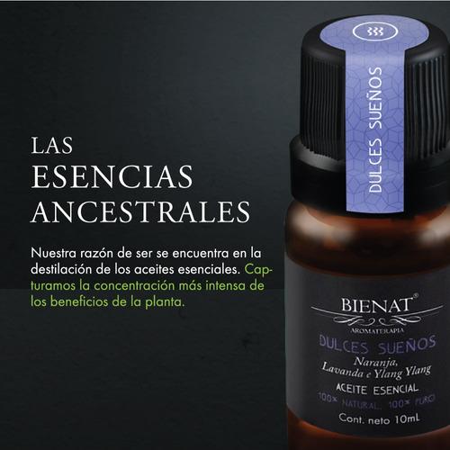 mezcla de aceites esenciales dulces sueños 10ml