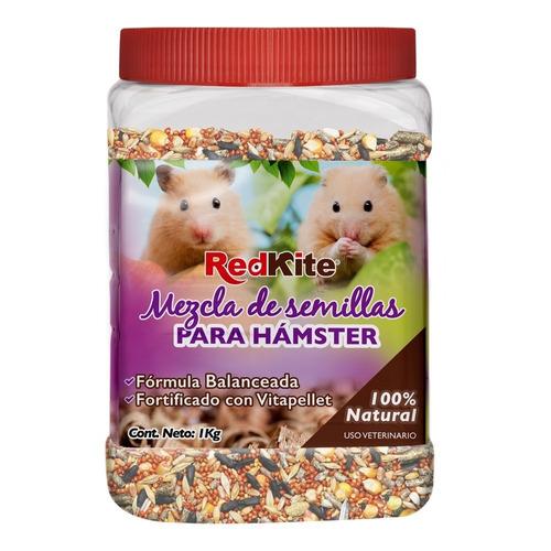 mezcla de semillas para hamsters 1kg redkite