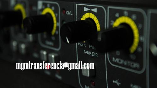 mezcla y mastering de audio