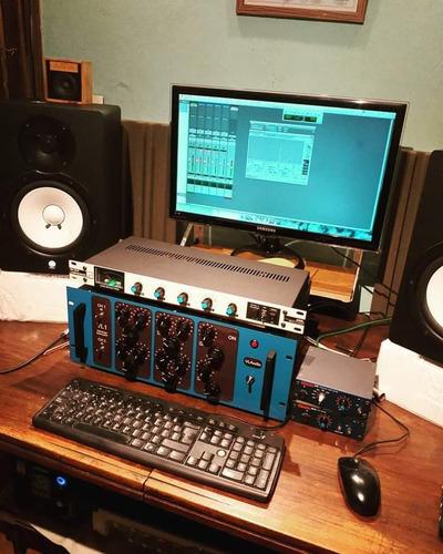 mezcla y/o mastering híbrido, digital y analógico