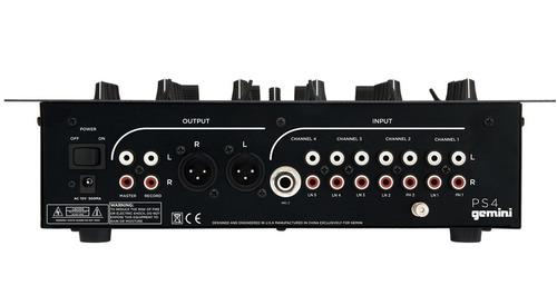 mezclador 4 canales gemini ps4