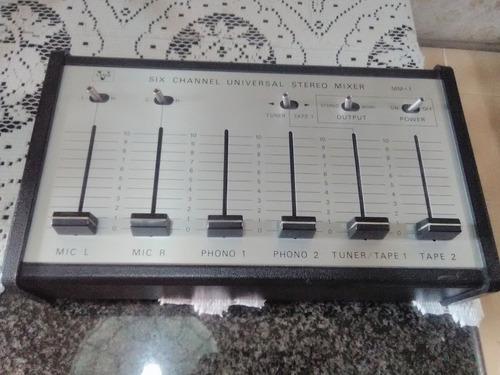mezclador audio vanco mm-1 seis canales analógico