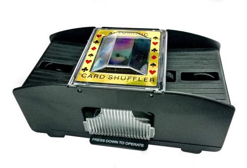 mezclador barajador de cartas poker a pilas
