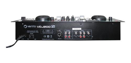 mezclador con efecto de scratch vento vdj200