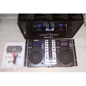 Mezclador Consola Display Gemini Cdm-3650 Mp3/cd 450$