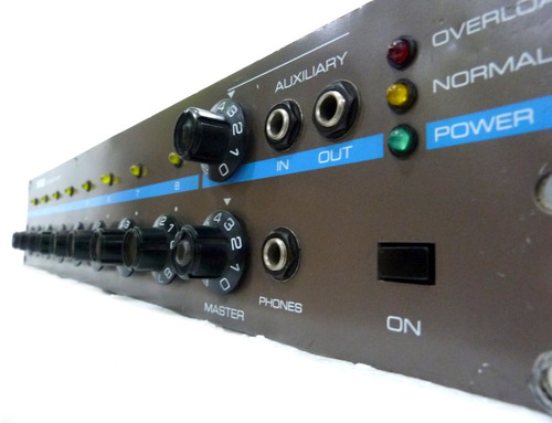 mezclador de micrófonos shure ams-8000
