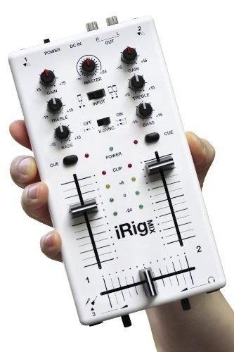 mezclador ik multimedia irig mix djstyle para