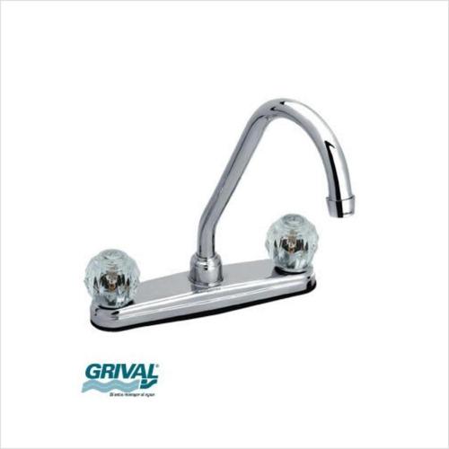 mezclador lavaplatos prysma grival 515040001