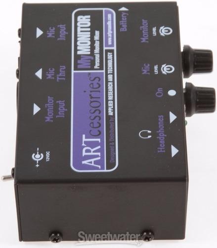 mezclador personal de auriculares  art mymonitor