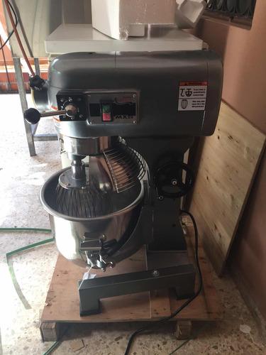 mezcladora batidora repostería marca avantco, 20 qts