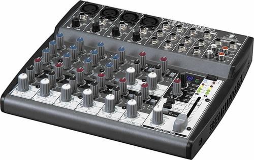mezcladora behringer 1202fx efectos digitales 12 entradas
