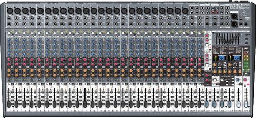 mezcladora behringer eurodesk sx3242fx 32 canales