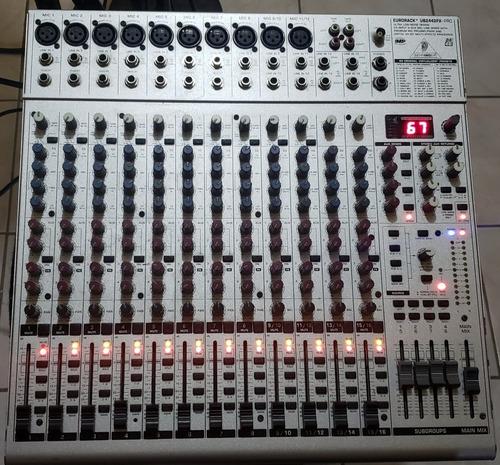 mezcladora behringer eurorack ub2442fx-pro