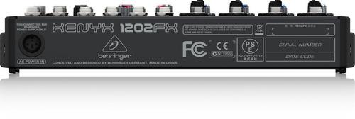 mezcladora behringer xenyx-1202fx