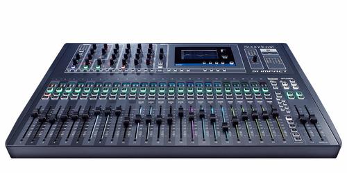 mezcladora consola digital soundcraft si impact 40 canales